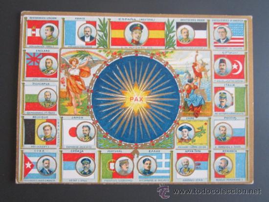 I GUERRA MUNDIAL. POSTAL CONMEMORATIVA PAZ UNIVERSAL. (Postales - Postales Temáticas - I Guerra Mundial)
