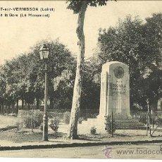 Postales: NOGENT-SUR-VERNISSON. FRANCIA. MONUMENTO A LOS MUERTOS POR LA PATRIA.. Lote 38777675