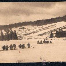 Postales: POSTAL III-2 I GUERRA MUNDIAL ESQUIADORES EN LOS VOGOS 1916 SIN CIRCULAR. Lote 39888755