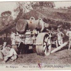 Postales: PRIMERA GUERRA MUNDIAL. EN BÉLGICA. PIEZA PESADA BAJO 'CAMOUFLAGE'. Lote 40990308