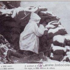 Postales: PRIMERA GUERRA MUNDIAL. LA GUERRA ITALIANA. EN VIGÍA, A 3000 METROS DE ALTURA. Lote 40990604