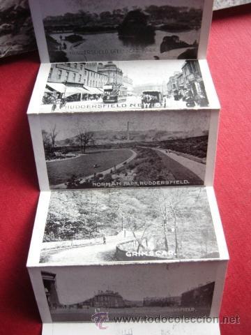 Postales: POSTAL VISTAS DE HUDDESFIELD IN A TANK. VER FOTOS. - Foto 3 - 179045245