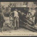Postales: I GUERRA MUNDIAL -FRENTE DEL OISE - CAÑON FRANCES DE 105 LARGO SCHNEIDER - (19254). Lote 41558595