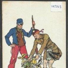 Postales: I GUERRA MUNDIAL - DIBUJO - (19263). Lote 41558924