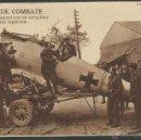 Postales: I GUERRA MUNDIAL -FUERA DE COMBATE -AVIADORES BRITANICOS CON UNA AEROPLANO ALEMAN CAPTURADO- (19326). Lote 41567763
