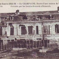 Postales: LA GRANDE GUERRE 1914-16 - EN CHAMPAGNE.. Lote 43140805