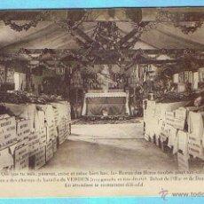 Postales: OSSUAIRE PROVISOIRE DES CHAMPS DE BATAILLE DE VERDUN. DOUAUMONT (MEUSE). Lote 43307642