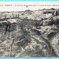 Postales: 3746 BATAILLE DE VERDUN. LE FORT DOUAUMONT. LA PENSEE. Lote 43309039