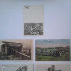 Cartes Postales: 5 POSTALES ORIGINALES I GUERRA MUNDIAL. Lote 43540490