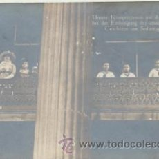 Postales: ALTEZAS REALES EN SEDANTAG. 1914.. Lote 44013791