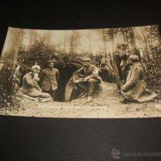 Postales: GUERRA DE 1914 SOLDADOS ALEMANES. Lote 45444975
