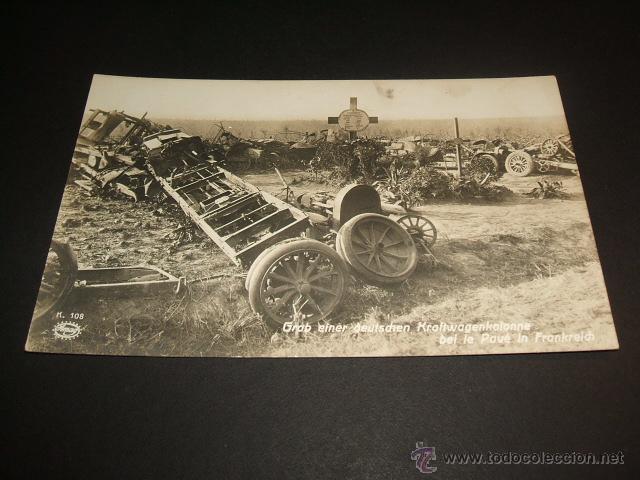 PRIMERA GUERRA MUNDIAL 1914 CEMENTERIO (Postales - Postales Temáticas - I Guerra Mundial)