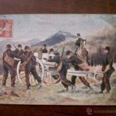 Postales: INTERESANTE POSTAL FRANCESA CIRCULADA 1910. Lote 45890556