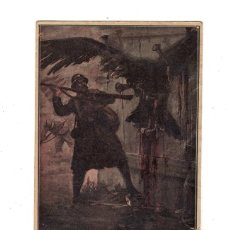 Postales: NO HI TORNARÀS!! SÈRBIA - ANGEL GUIMERÀ. VOLUNTARIS CATALANS PRIMERA GUERRA MUNDIAL. 1916. . Lote 115590444