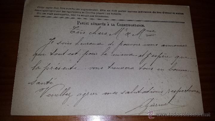 Postales: ANTIGUA TARJETA POSTAL FRANCESA DES ARMEES DE LA REPUBLIQUE LYON - Foto 2 - 46649408