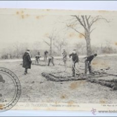 Postales: POSTAL ANIMADA 97. GUERRE 1914-15 - LES TRANCHÉES. PREMIERS TERRASSEMENTS - I GUERRA MUNDIAL / IWW. Lote 47793128