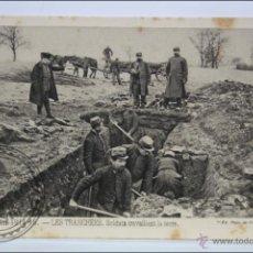 Postales: POSTAL ANIMADA 99. GUERRE 1914-15 - LES TRANCHÉES. SOLDATS TRAVAILLANT... - I GUERRA MUNDIAL / IWW. Lote 47793178