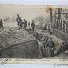 Postales: POSTAL ANIMADA 100. GUERRE 1914-15 - LES TRANCHÉES. ACHÈVEMENT... - I GUERRA MUNDIAL / IWW. Lote 47793204