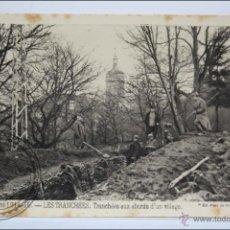 Postales: POSTAL ANIMADA 102. GUERRE 1914-15 - LES TRANCHÉES. TRANCHÉES AUX ABORDS... - I GUERRA MUNDIAL / IWW. Lote 47793257