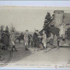Postales: POSTAL ANIMADA 106. GUERRE 1914-15 - DANS LE NORD. RAPPORT D'UN OFFICIER... - I GUERRA MUNDIAL / IWW. Lote 47793404