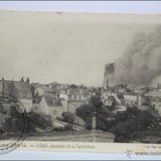 Postales: ANTIGUA POSTAL 109. GUERRE 1914-15 - REIMS. INCENDIE DE LA CATHÉDRALE - I GUERRA MUNDIAL / IWW. Lote 47793496