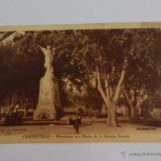 Postales: CARPENTRAS: MONUMENT AUX MORTS DE LA GRANDE GUERRE. Lote 48583898