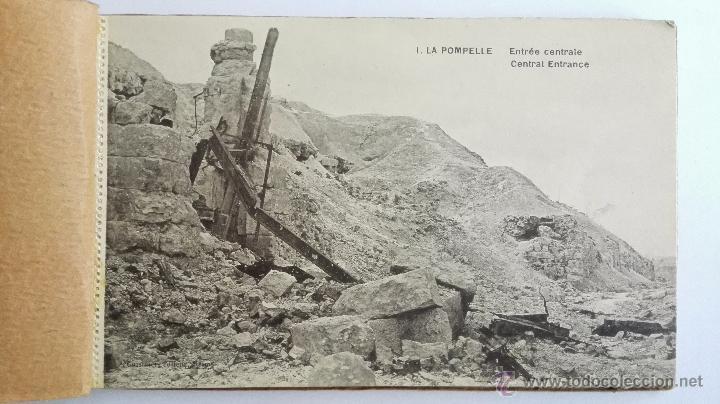 Postales: BLOQUE DE 16 POSTALES, LA POMPELLE BERRY - AU - BAC, - DESPUES DE LA ULTIMA BATALLA - Foto 2 - 49235505
