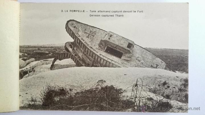 Postales: BLOQUE DE 16 POSTALES, LA POMPELLE BERRY - AU - BAC, - DESPUES DE LA ULTIMA BATALLA - Foto 3 - 49235505