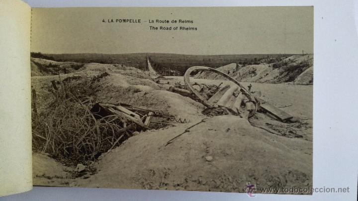 Postales: BLOQUE DE 16 POSTALES, LA POMPELLE BERRY - AU - BAC, - DESPUES DE LA ULTIMA BATALLA - Foto 4 - 49235505