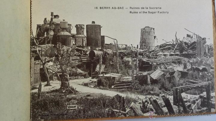 Postales: BLOQUE DE 16 POSTALES, LA POMPELLE BERRY - AU - BAC, - DESPUES DE LA ULTIMA BATALLA - Foto 5 - 49235505