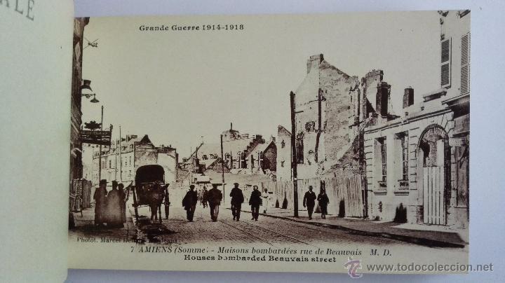 Postales: BLOQUE 24 POSTALES, AMIENS RUINAS DE LA GRAN GUERRA 1914-1918 - Foto 5 - 49236664
