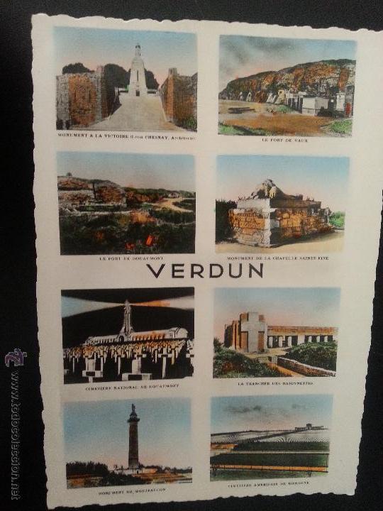 POSTAL I GUERRA MUNDIAL .IMAGENES DE VERDUN (Postales - Postales Temáticas - I Guerra Mundial)