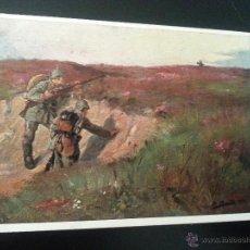 Postales: POSTAL I GUERRA MUNDIAL .VOLKERKRIEG 1914. Lote 49377014