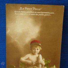 Postales: POSTAL CON NIÑO ESCRITA POR SOLDADO FRANCES 1 GUERRA MUNDIAL DE 1915. Lote 49592002