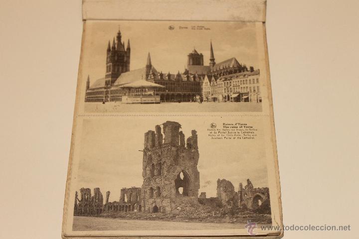 Postales: LIBRO POSTALES DE YPRES ANTES Y DESPUES DEL BOMBARDEO ALEMAN 1915, BRUSELAS - Foto 2 - 49715983