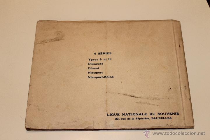 Postales: LIBRO POSTALES DE YPRES ANTES Y DESPUES DEL BOMBARDEO ALEMAN 1915, BRUSELAS - Foto 4 - 49715983