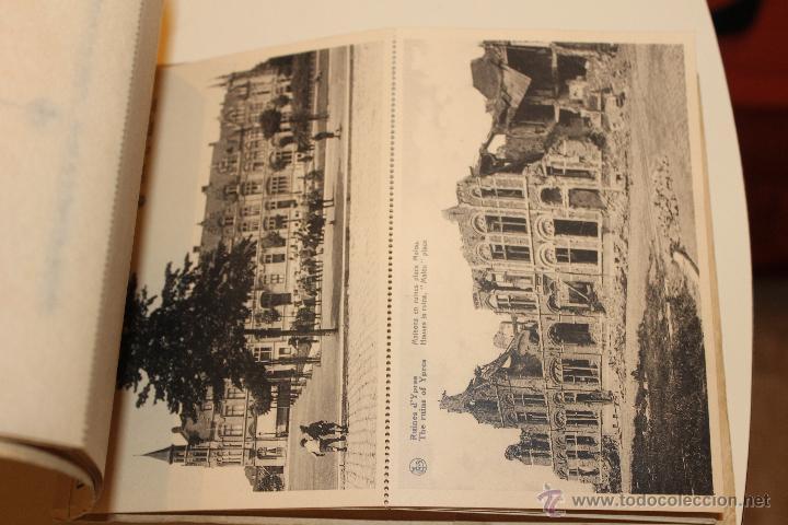 Postales: LIBRO POSTALES DE YPRES ANTES Y DESPUES DEL BOMBARDEO ALEMAN 1915, BRUSELAS - Foto 6 - 49715983