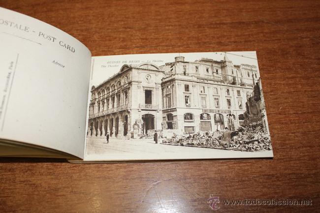 Postales: ALBUM SOUVENIR. REIMS, WAR-PICTURES. 20 POSTALES PRIMERA GUERRA MUNDIAL - Foto 3 - 52428408