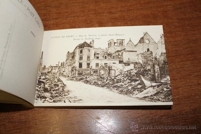 Postales: ALBUM SOUVENIR. REIMS, WAR-PICTURES. 20 POSTALES PRIMERA GUERRA MUNDIAL - Foto 4 - 52428408