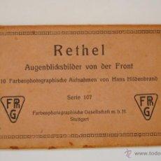 Postales: POSTALES DEL FRENTE VON HANS HILDENBRAND SERIE 107 COMPLETA . Lote 54145607
