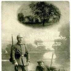Postales: CORREO ALEMÁN EN EL FRENTE, 1916, PRIMERA GUERRA MUNDIAL. Lote 55705535
