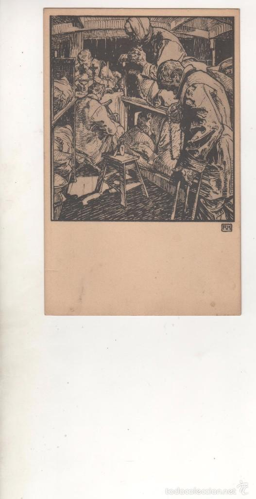 POSTAL PATRIÓTICA ALEMANIA. 1ª GUERRA MUNDIAL. ORIGINAL. SIN CIRCULAR (Postales - Postales Temáticas - I Guerra Mundial)
