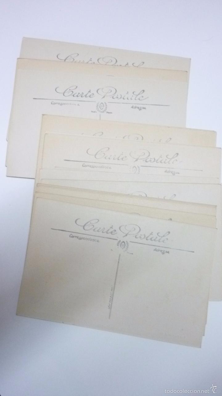 Postales: Lote de 29 postales LILLE. (Francia). Originales. I Guerra Mundial. Efectos bombardeos.Sin circular. - Foto 4 - 55884451