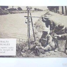 Postales: SEÑALES VISUALES. POSTAL PROPAGANDISTA DE LOS ALIADOS. I GUERRA MUNDIAL. SIN CIRCULAR. Lote 55884807