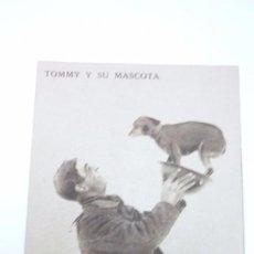Postales: TOMMY Y SU MASCOTA. POSTAL PROPAGANDISTA DE LOS ALIADOS. I GUERRA MUNDIAL. SIN CIRCULAR. Lote 55884892