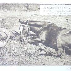 Postales: LA CARTA PARA LA FAMILIA. POSTAL PROPAGANDISTA DE LOS ALIADOS. I GUERRA MUNDIAL. SIN CIRCULAR. Lote 55884935