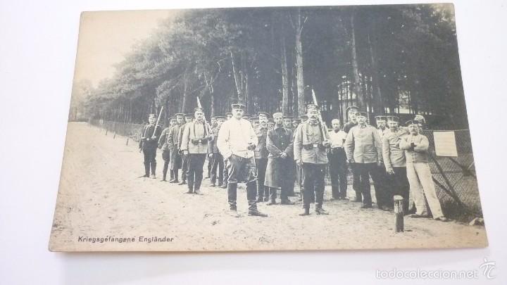 PRISIONEROS INGLESES. POSTAL I GUERRA MUNDIAL. (Postales - Postales Temáticas - I Guerra Mundial)