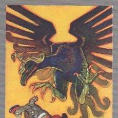 Postales: TARJETA POSTAL ACTUALIDAD DE ESOPO. LA TORTUGA Y EL ÁGUILA. Lote 56964344