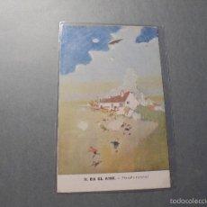 Postales: II . EN EL AIRE - ¡ HAZAÑA HEROICA ! M. M. U. S. - 14X9 CM. . Lote 58201843