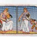 Postales: CRIA CUERVOS Y TE SACARÁN LOS OJOS 1882 LA BUENA NODRIZA Y LA GRATITUD 1915,TIPOGRAFIA LA ACADÉMICA . Lote 58959510